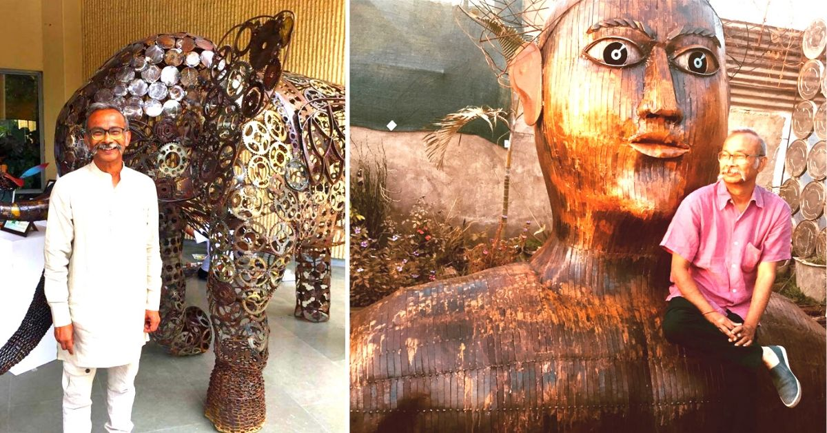 In Pics: Made of Waste Metal, This Sculptor Proves Amazing Art is Everywhere