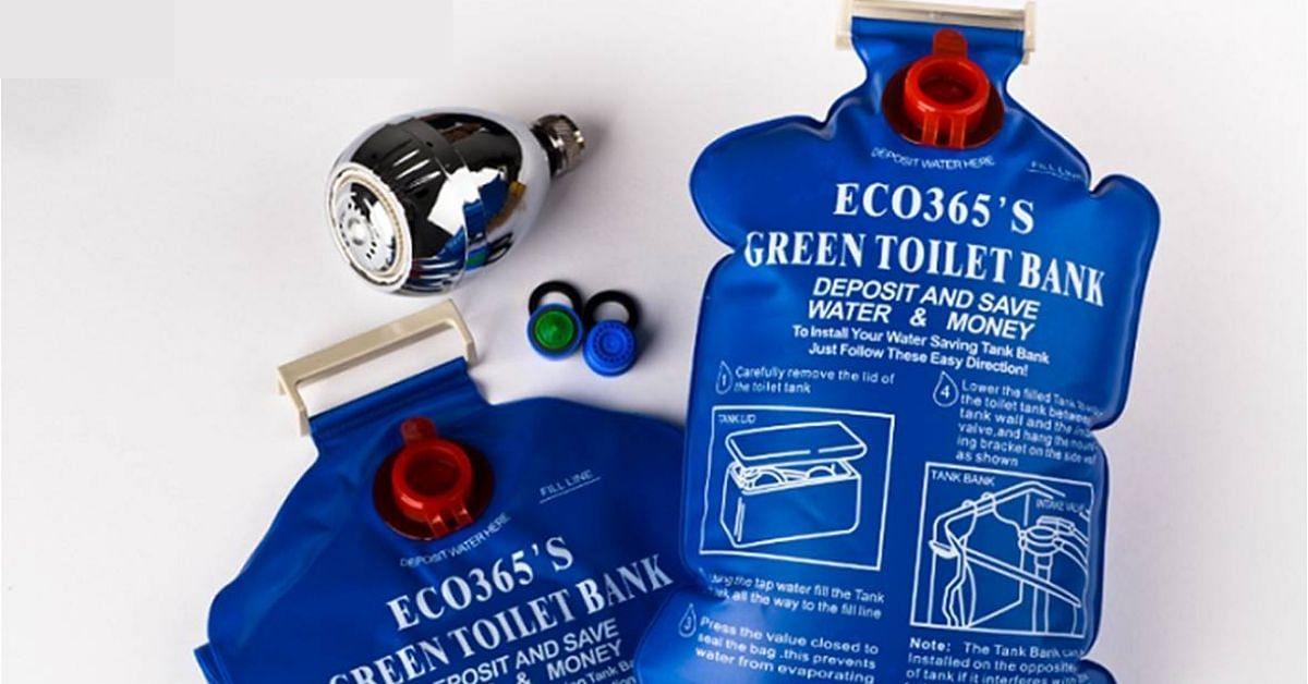 toilet water bank