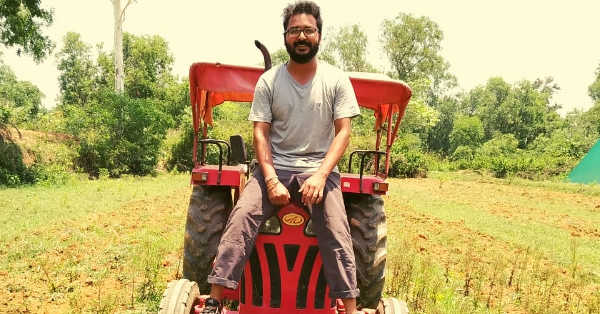 30-YO Man Quits Job to Start Community Farming, Doubles Income of 80 Farmers!