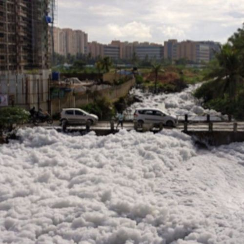 pollution in lakes