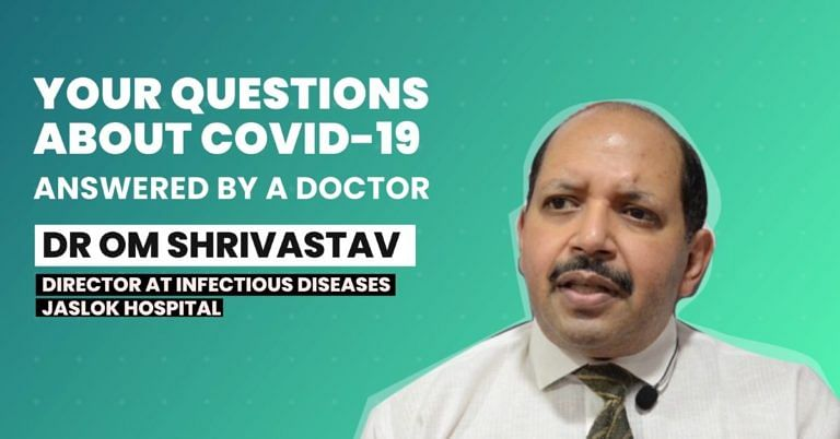 Food to Tests: Your Questions on COVID-19, Answered by an Infection Specialist