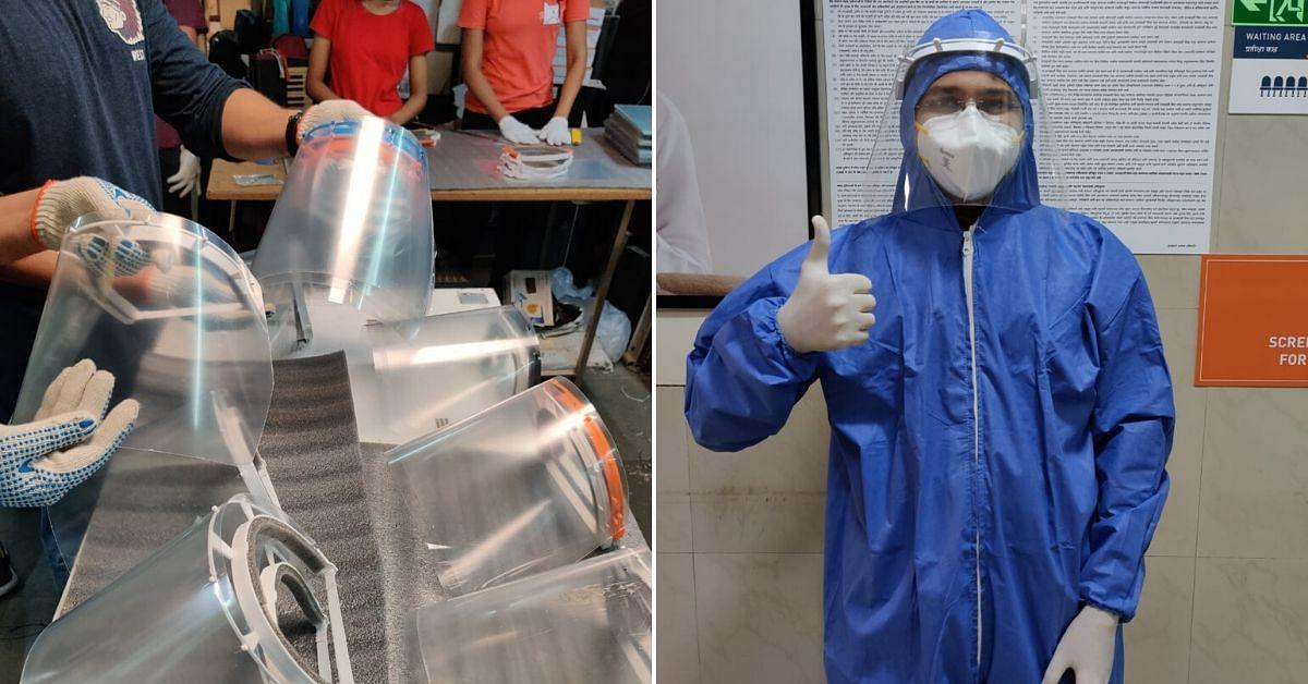 Boson Mechanics Covid19 face shield