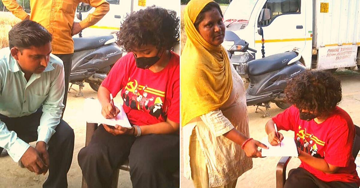 From 4 Am to Midnight, This DU Student Delivers Food to Delhi's Poorest Every Day!