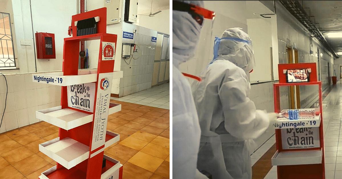 Kerala's 'Nightingale-19' Robot Serves Meals, Helps Doctors Treat COVID-19 Patients
