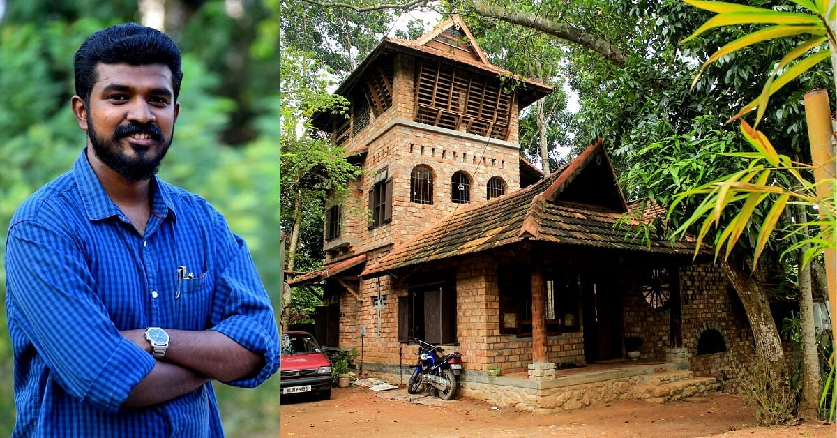 Bamboo & 90% Recycled Waste: Kerala Architect Builds Green Home in 4 Months!