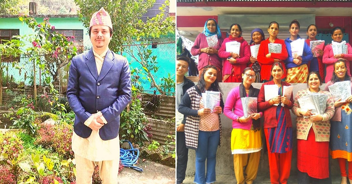 Sikkim Teacher Upcycles 85,000 Plastic Packets Into 6100 Book Covers, Empowers Rural Women