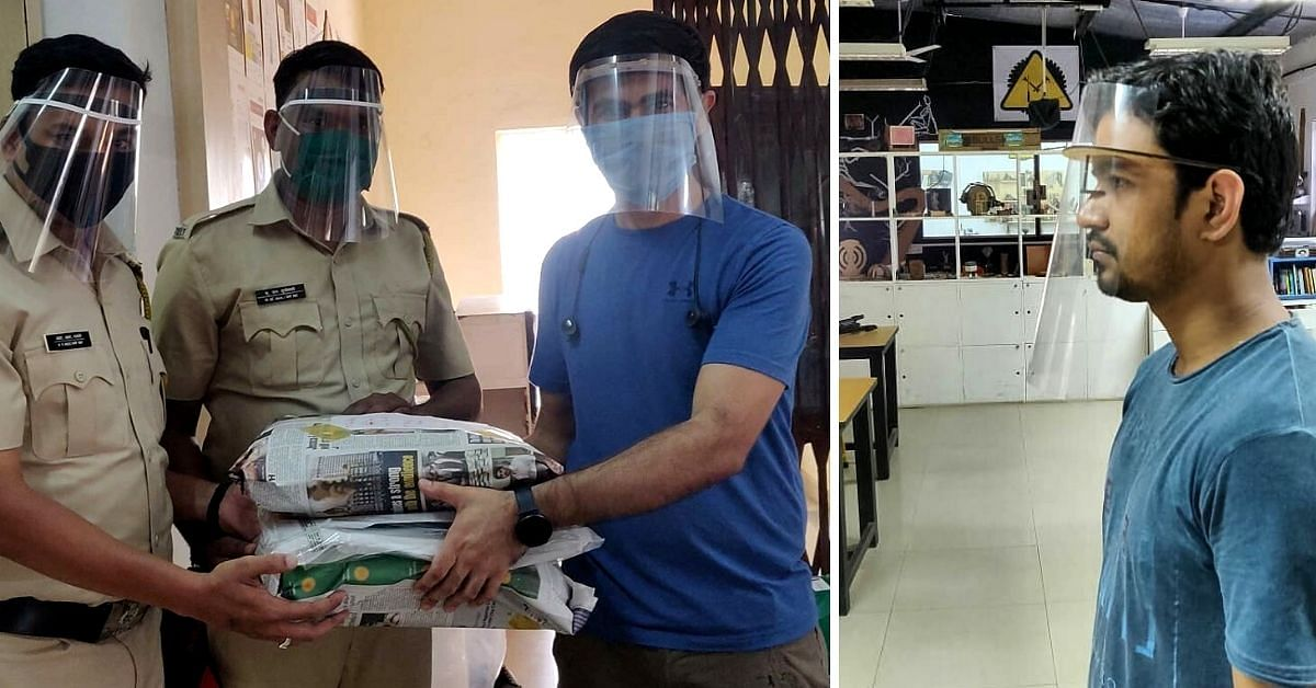 Innovators in 12 Cities Make Face Shields By Hand, Supply 54000+ to Health Workers