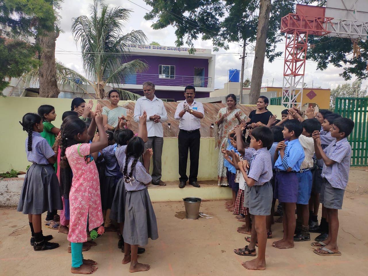 bengaluru hygiene education sikshana