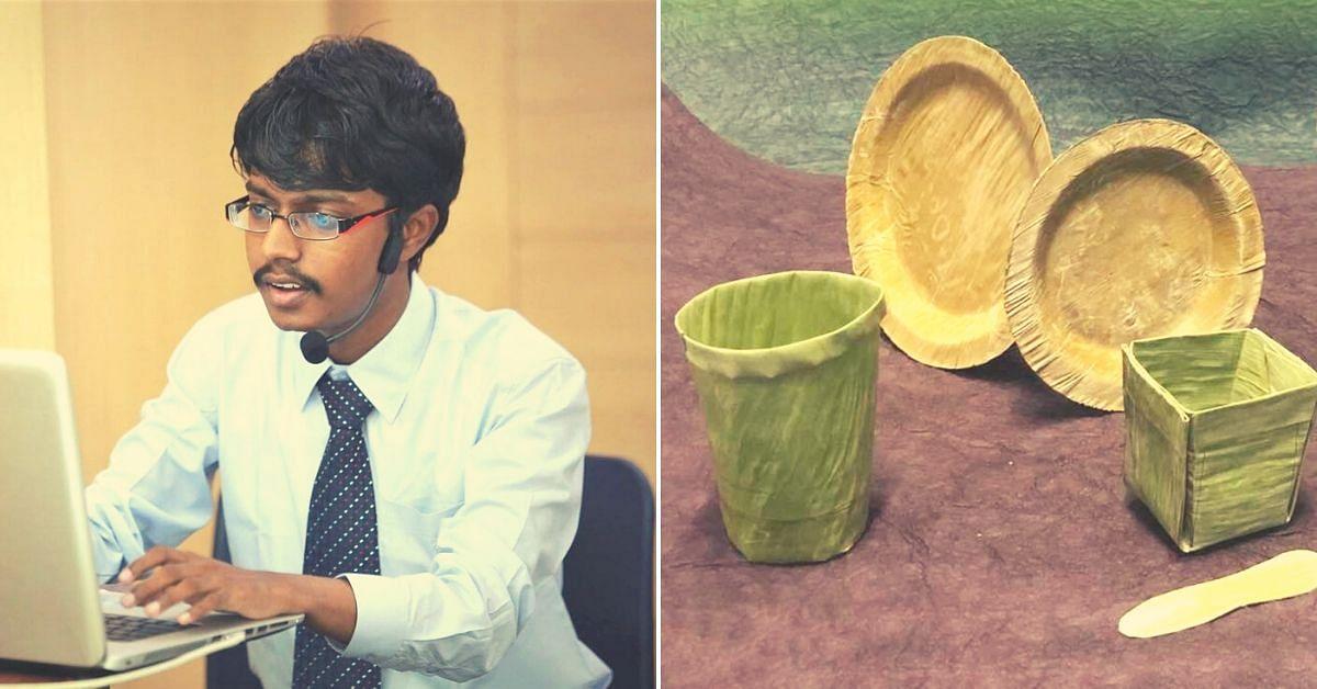 TN Man's Tech Enhances Shelf Life of Banana Leaves From 3 Days to 3 Years!