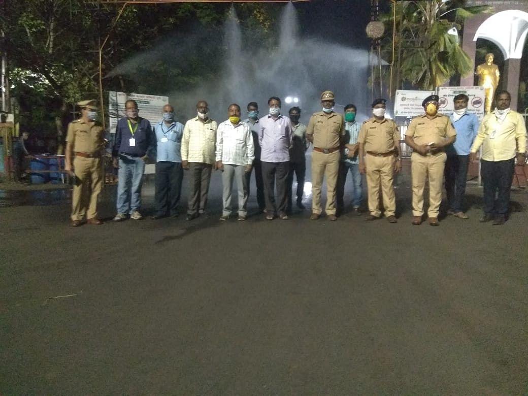 Pune police covid-19 lockdown