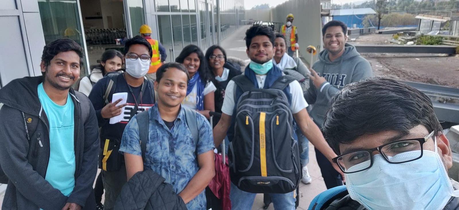 kerala italy students rescue covid-19