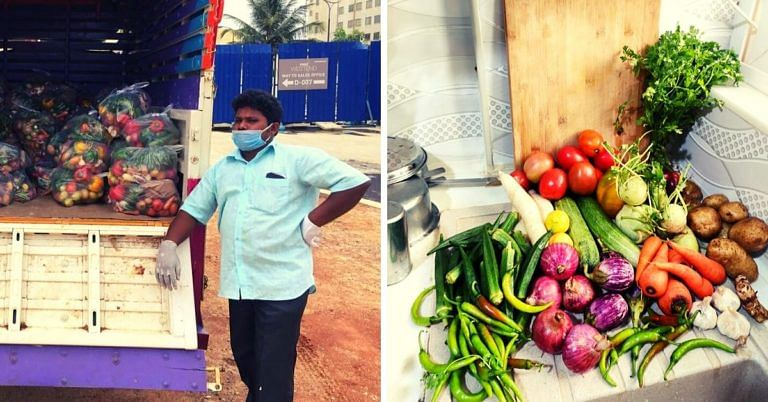 Bengaluru Initiative Delivers Fresh Veggies Directly from Farms to 700+ Families