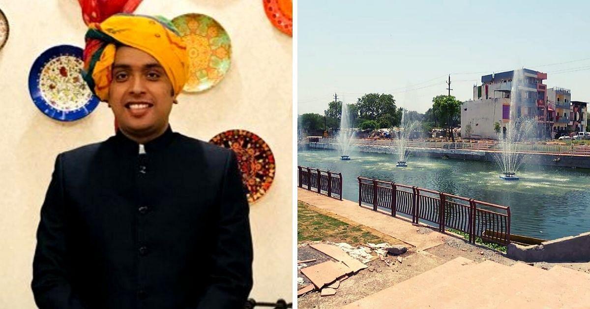 Indore IAS Turns 2 km Stretch of Saraswati River 100% Sewage Free. Here's How!
