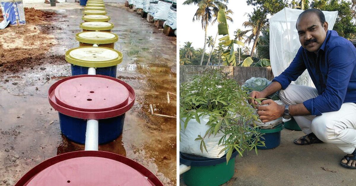 Kerala Man's Low-Cost System Waters Upto 10 Plants On Its Own!