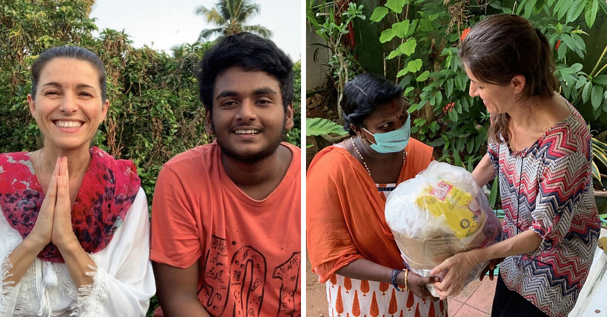 Stranded in Kochi, French Woman Raises Rs 6 Lakh For The Needy Through Her Songs!