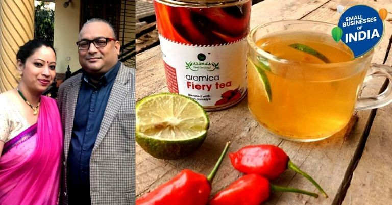 Ever Had Bhut Jolokia Tea? Assam Couple Brew Success With Unique, Natural Blends