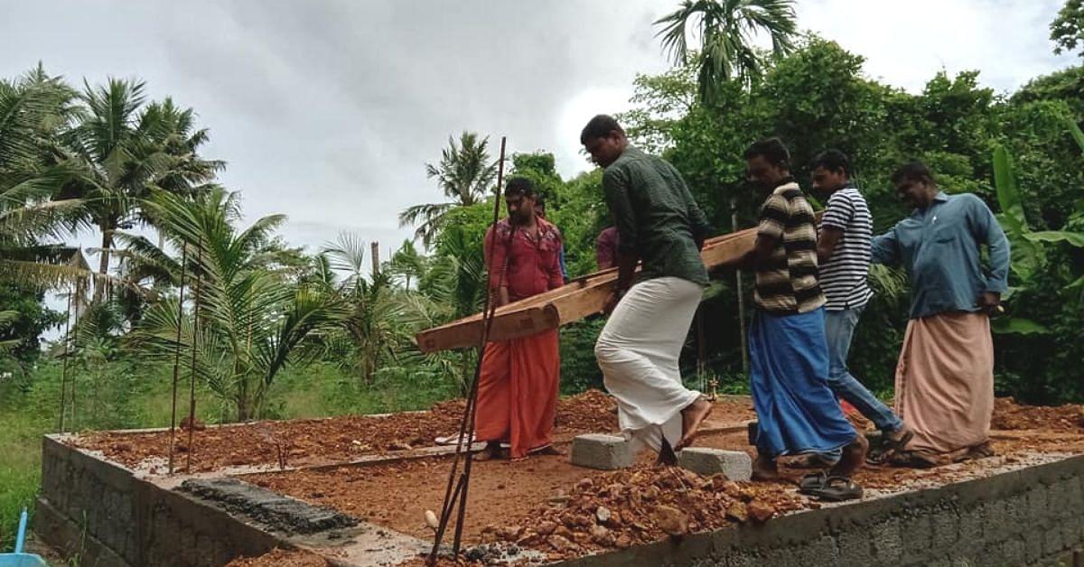 Kerala floods srishti architecture