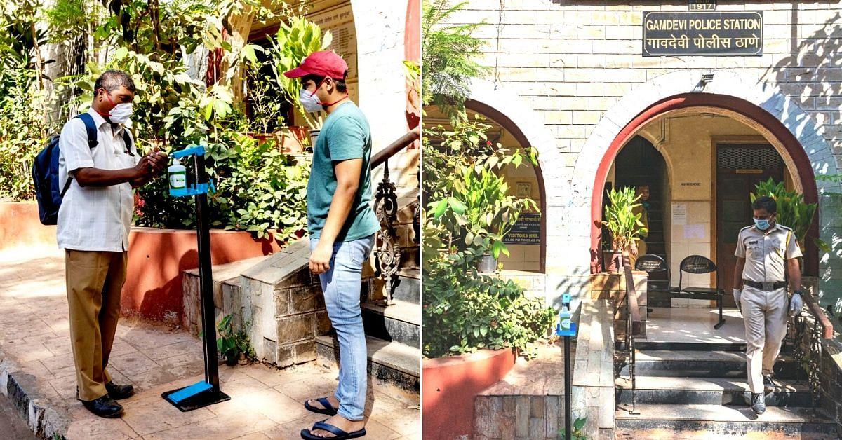 beco mumbai sanitizing stations