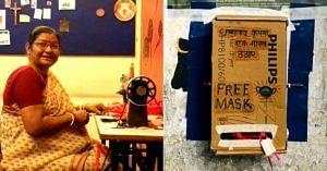 delhi free masks laxmi das