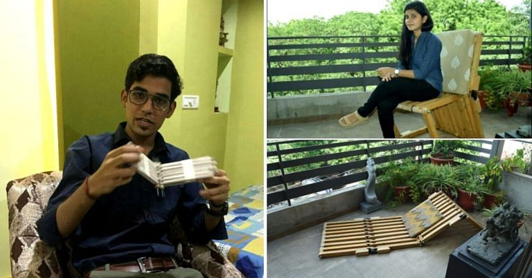 Noida Student Designs Wood 'Cube' That Transforms Into 14 Types of Furniture