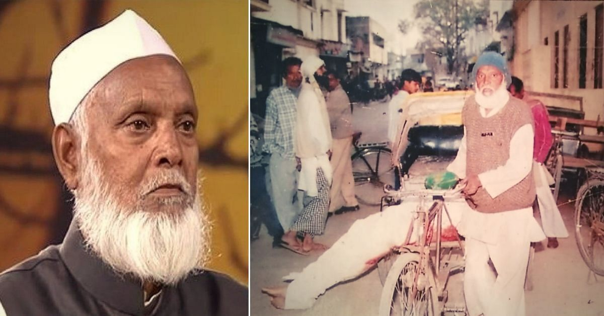 82-YO 'Shareef Chacha' Has Spent 27 Years Burying, Cremating 4000+ Unclaimed Bodies