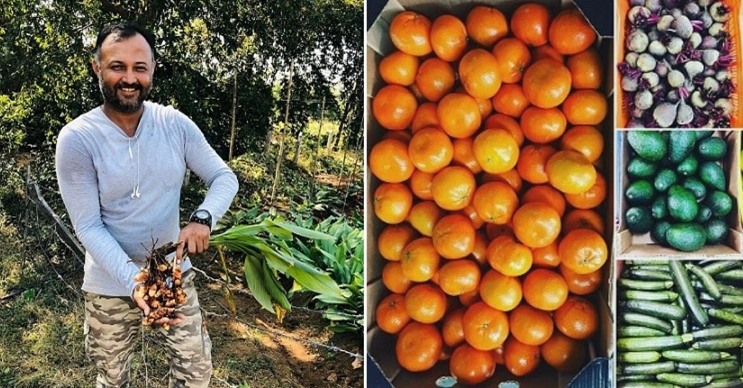 He Quit a 16-Year Career to Bring Organic Food to Your Doorsteps, Now Earns Lakhs