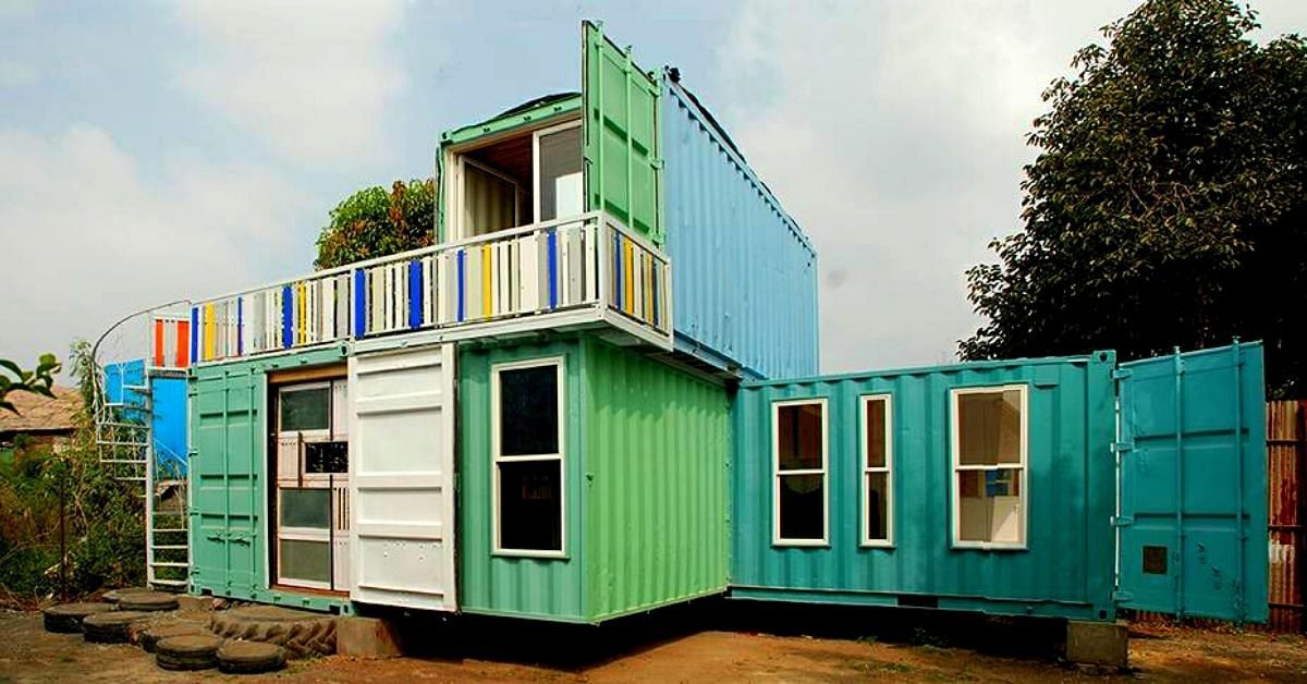Pune Duo Turn Shipping Containers Into Portable Offices, Homes
