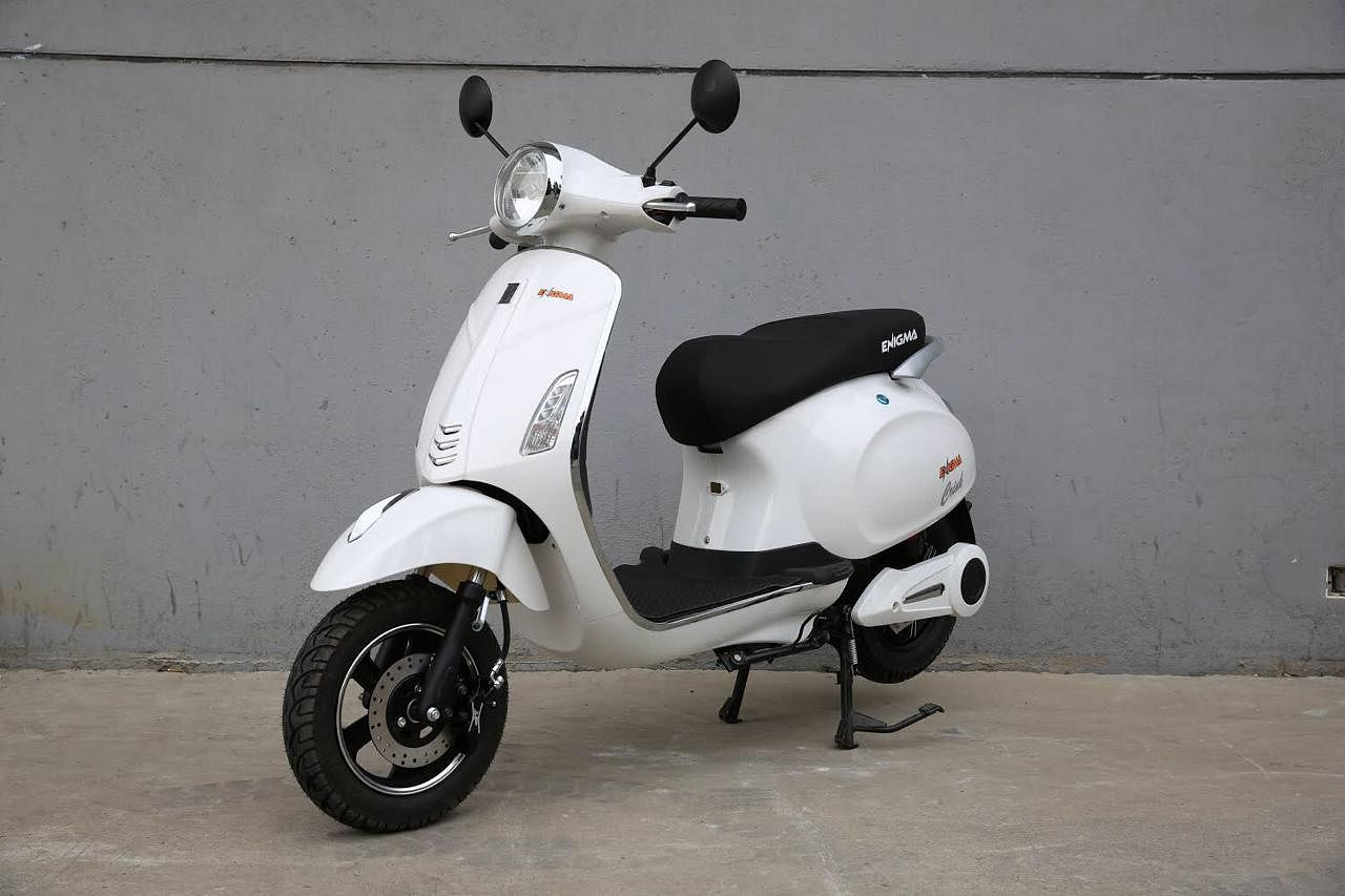 E-scooters can run up to 140 kilometres in a single charge