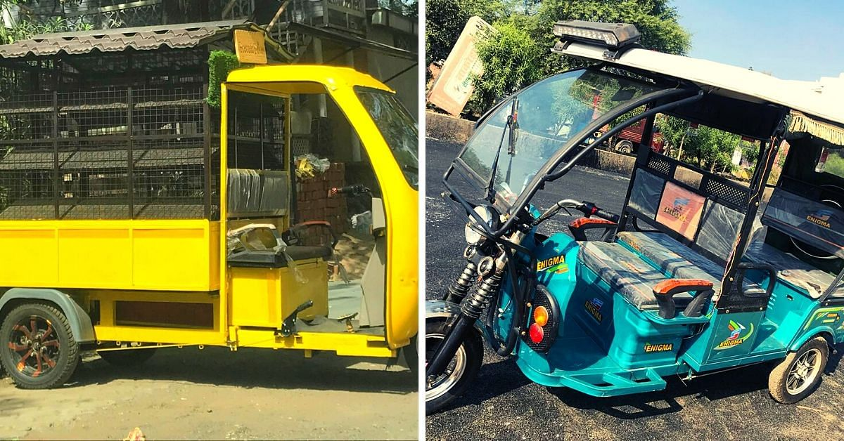 E-rickshaws have a 3-gear system