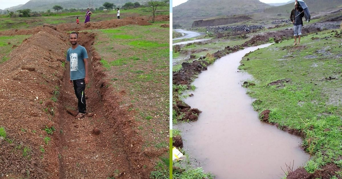 """""""I also shared how trenches could get dug to allow rain water to get stored in the belly of the ground,"""""""