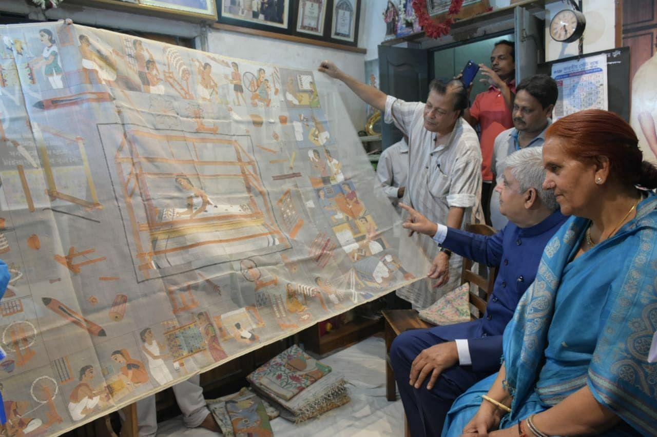 Bengal Saree Artisan passa de Rs 2,5 por dia para administrar um empreendimento de Rs 50 Cr 10