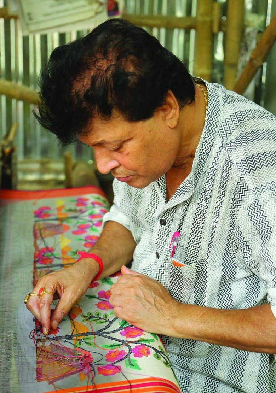 Bengal Saree Artisan passa de Rs 2,5 por dia para administrar um empreendimento de Rs 50 Cr 3