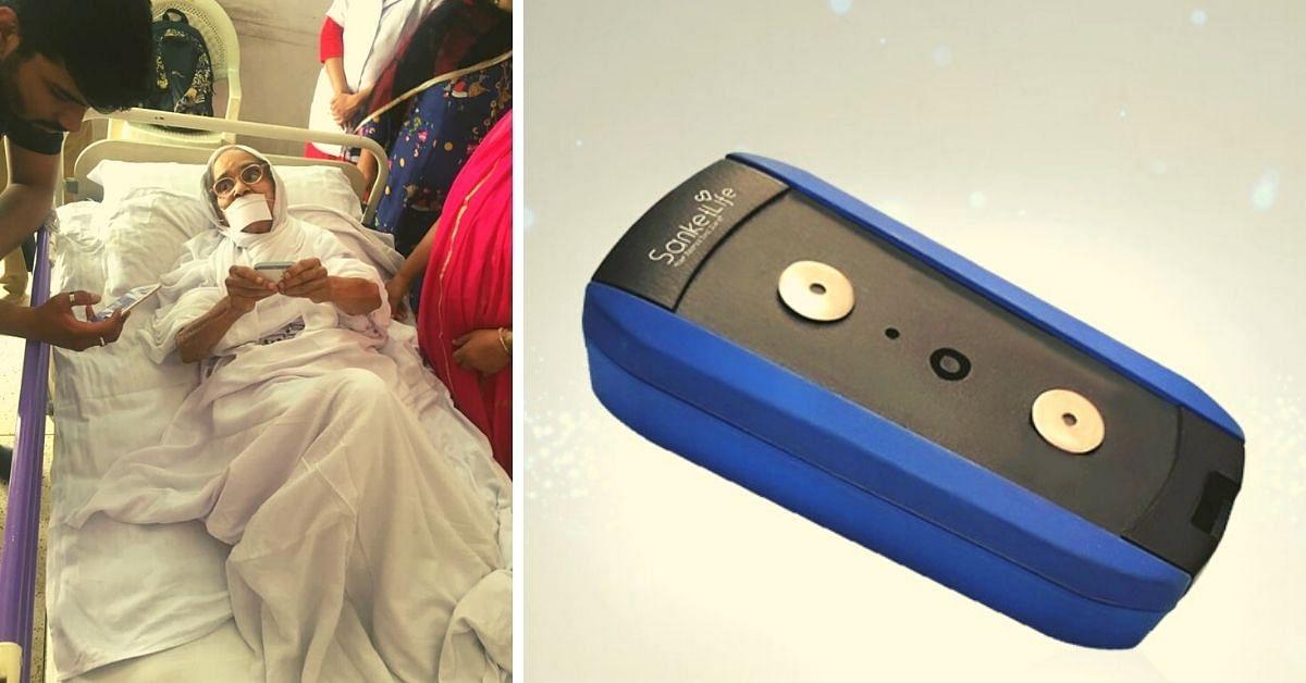 A saúde do coração do pai leva a Duo a fazer um dispositivo de ECG de baixo custo do tamanho de um chaveiro 3