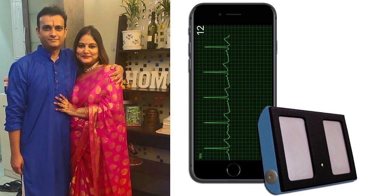 A saúde do coração do pai leva a Duo a fazer um dispositivo de ECG de baixo custo do tamanho de um chaveiro 2