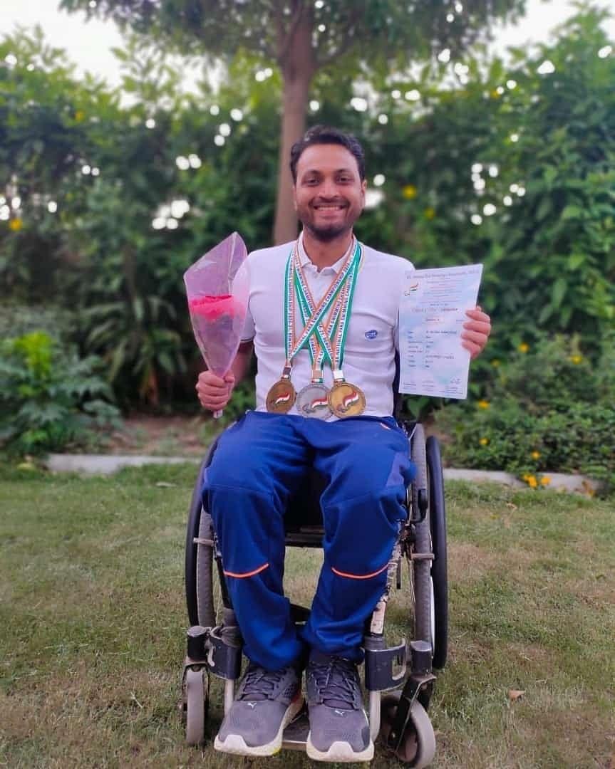 paraplegia swimmer para-sports