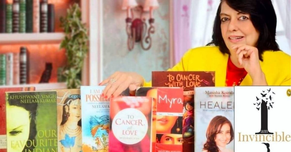 This Single Mom Fought Cancer Twice, And Then Became the Author of 10 Bestsellers - The Better India