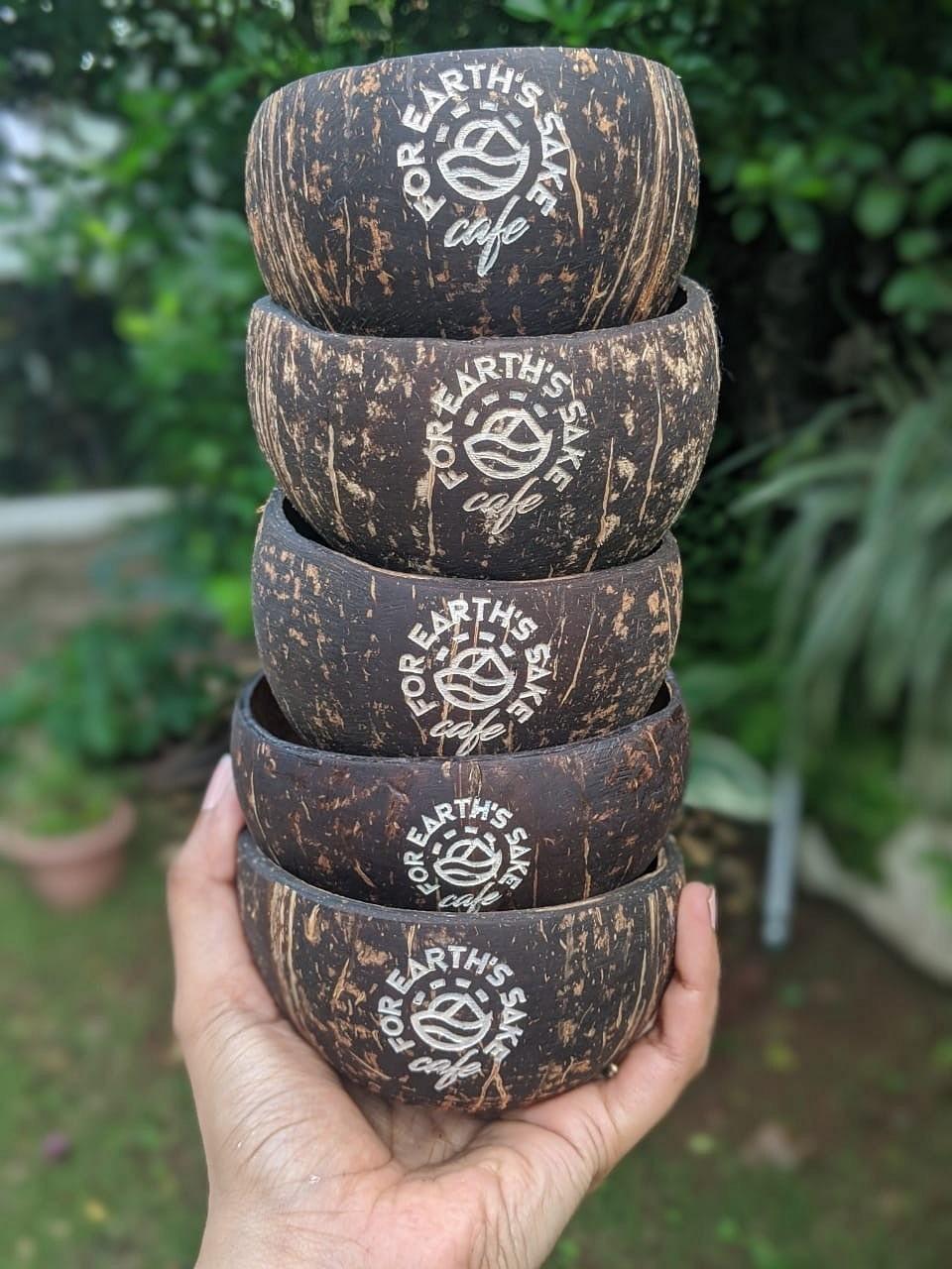 coconut shell bowls