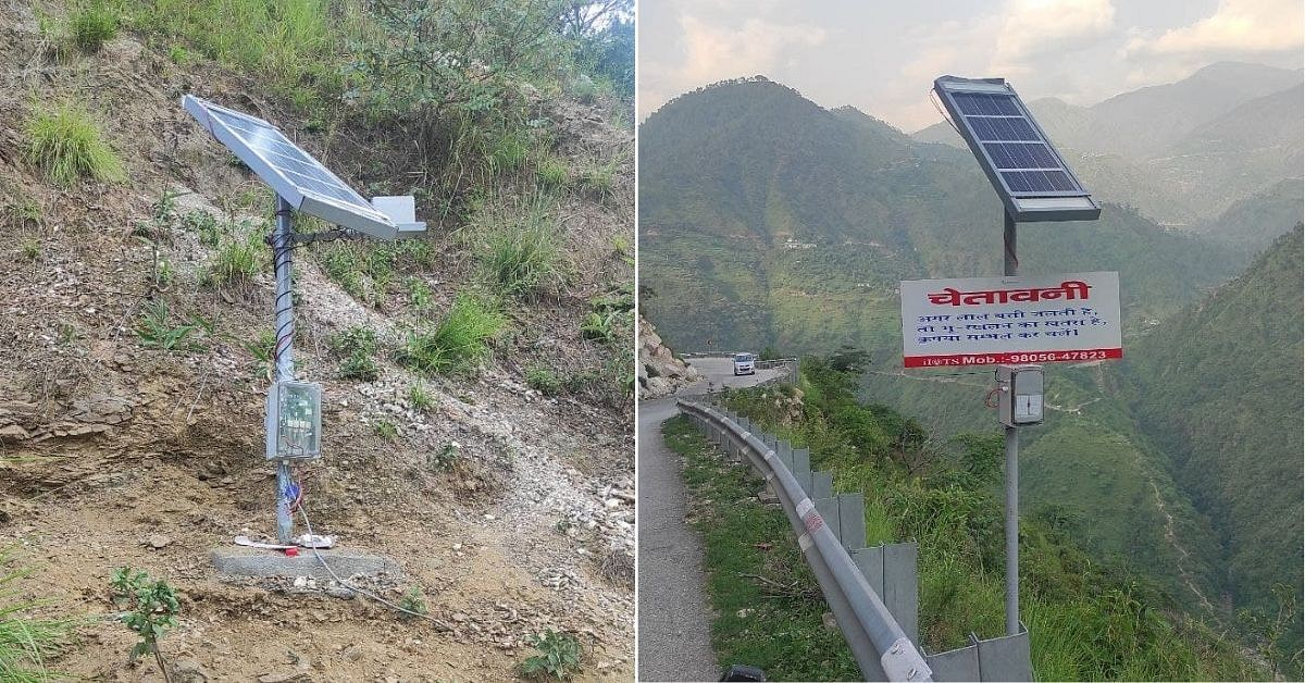 IIT-Mandi's landslide detection and warning device