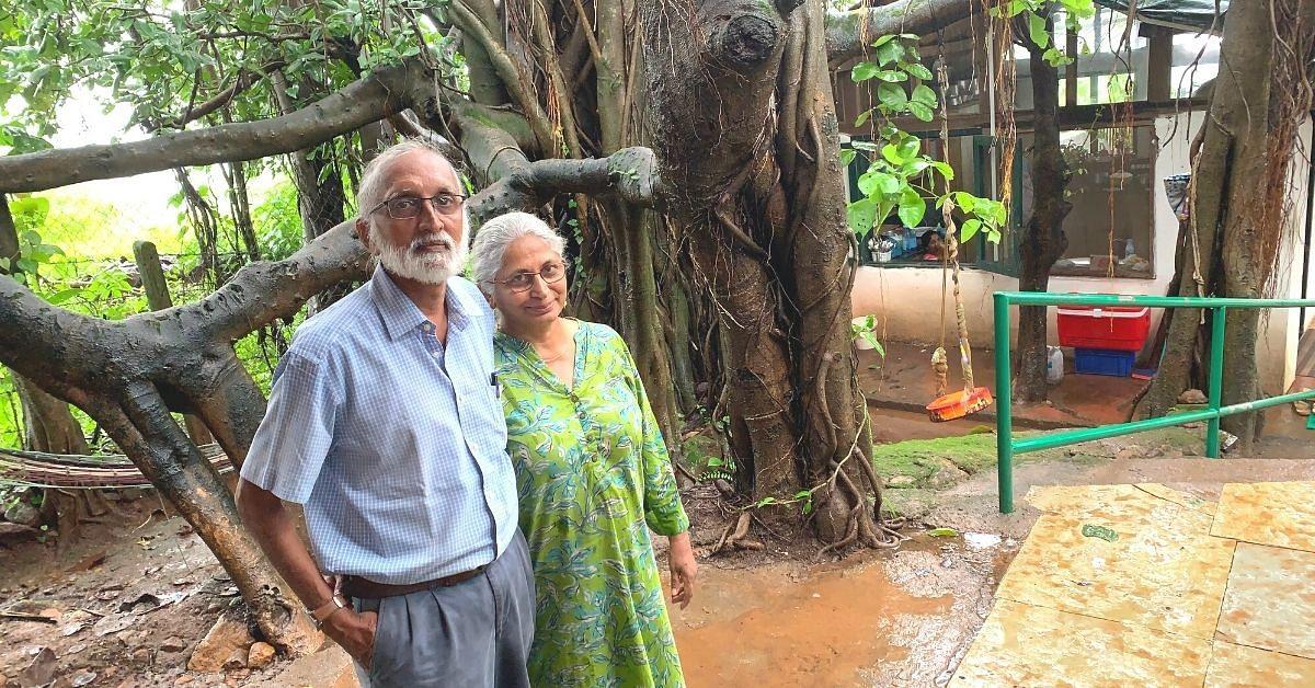 Viinod and Beena Nair Banyan Bliss.